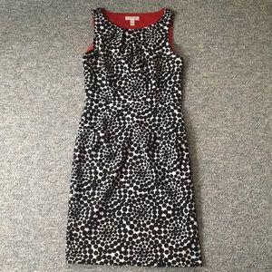 London Times Polka Dot Dress (Size 6)